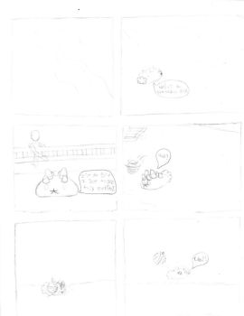 Journey to the end pg 1 ( un-inked ) by xsparky123