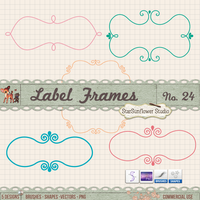 Free Doodle Frames Kit by starsunflowerstudio