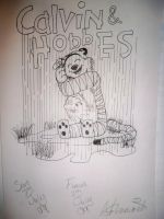 Calvin and Hobbes by Toddiie
