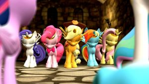 (HEX PACK DL) Mane 6 Alicorn pack by Legoguy9875