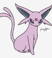 Espeon by Tegalad2