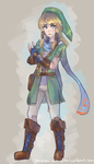 Female Link Concept by Moonixir