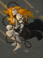 Melkor Chained by cenobitesquid