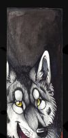 Silence-Wolfsoul bookmark by Suenta-DeathGod