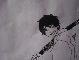 Rin Okumura (2) by JulieFF