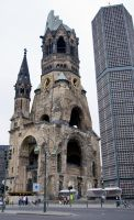 Gedaechtniskirche Berlin by archaeopteryx-stocks