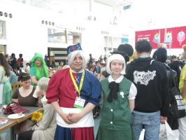 Anime Expo 2012 Eirin and Youmu by jay421501