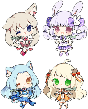 (CLOSED) collab point adopts 8 by waruuii