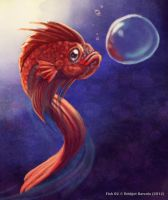 Weekly 2 - Betta Fish by Pink-Shimmer