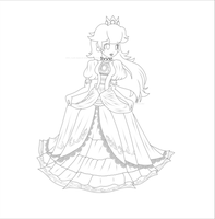 Taunting Princess Peach: Lines by Lady-Zelda-of-Hyrule