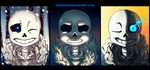 [ Undertale ] Sans Sans Sans by EarthXXII