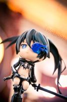 Black Rock Shooter - Slash by darakusan
