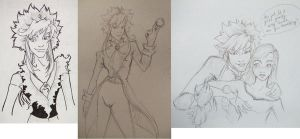 Swoopy Jareth Doodles by DanikaMorningStar