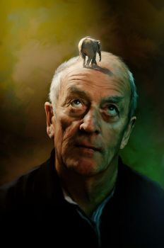THE_PORTRAIT_OF _THE_OLD_MAN by illugraphy