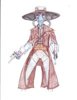 Cad Bane by Suemoons