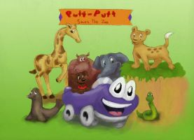 Putt Putt Saves the Zoo by chocolateviera