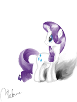Rarity Sketch - Colored by Habanc