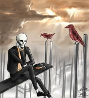 Bad day + Red crows by WolsanWolf