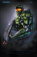 Master Chief by RobDuenas