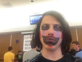 Marionette face paint. by Ask-The-5NAF-Crew