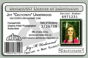 My 2nd Deviant ID by celticpath