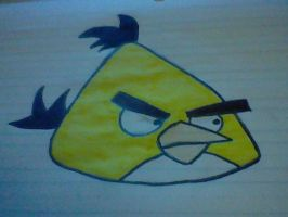Yellow Angry Bird by xTomzx101