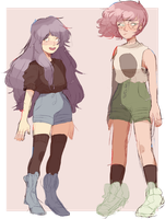 some ocs by Stinkling