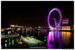 Wheel of London by djswim
