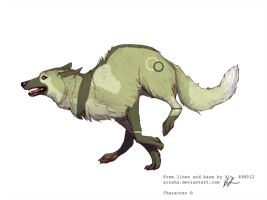 Wolf adoptable by Black-pond-adopts