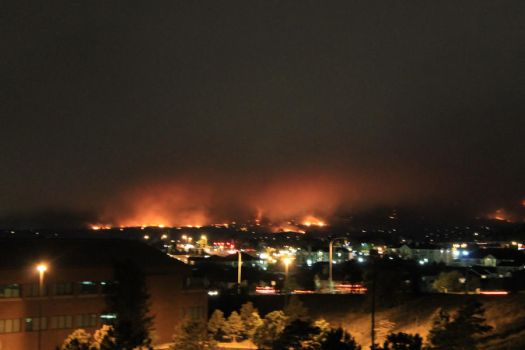 Waldo Canyon Fire - 3 - Tuesday 6-26-2012 by arbiter1983