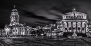 Berlin - Gendarmenmarkt at night by pingallery