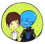 Megamind and Roxanne by HieiLovesCookies