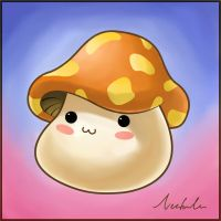 Maple Mushroom by VectorIce