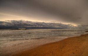 Silver Lining of Sandy by Enkased