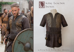 Ragnar Lothbrok Leather Jacket (replica) by Svetliy-Sudar