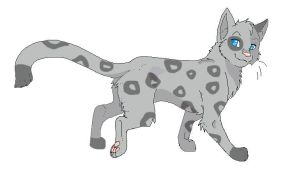 Warrior cat Ashfur by AlyssasART
