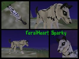 Feral Heart- Sparky! by PunkHound