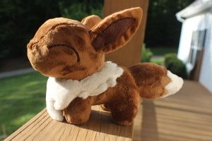 Eevee chibi - FOR SALE - OPEN AUCTION by Emberfall0507