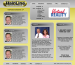 Hairline Clinic Website Layout by sammy8oy