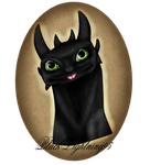 .:RQ:. Toothless by BlackLightning95