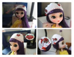 My First Home-Made Pullip Hat by Jofrenchie