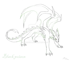 Black poison - sketch by Nordeva