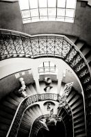 stairway in the school by torobala