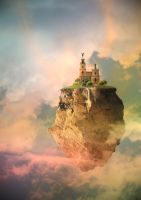 Castle in the Clouds by Digimaree