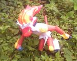 infernape papercraft by turtwigcuTey