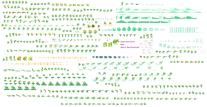 Rikuo Sprite Sheet: Default Palette by Blood-PawWerewolf
