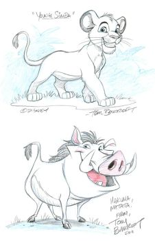 Lion King team up by tombancroft