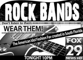 Rockbands Newsprint by PatrickJoseph