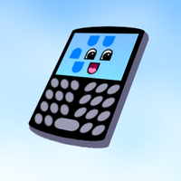 Cartoon Blackberry by BatmanWithBunnyEars