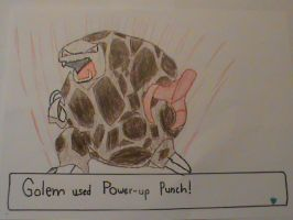 Pokemon Move Contest: Golem Power-Up Punch by babyluigi957